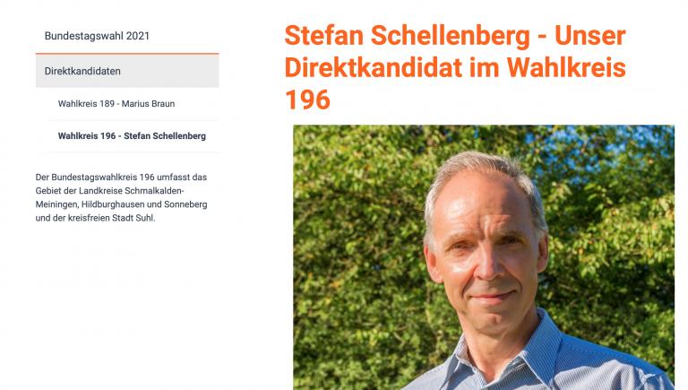 Live aus dem Fernsehzimmer – ÖDP Kandidat Stefan Schellenberg